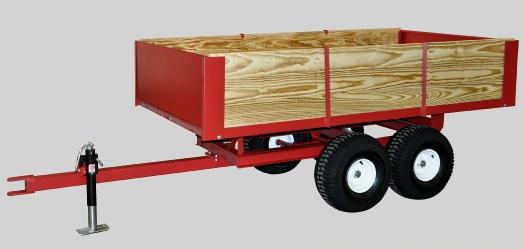 Model 8500 2-ton trailer