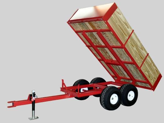 Model 8500 trailer dumping