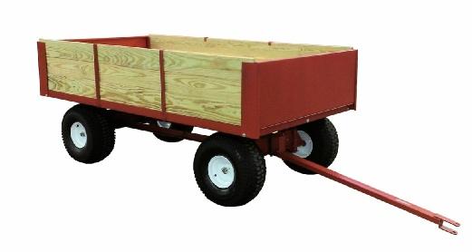 model 8300 2-ton utility dump wagon