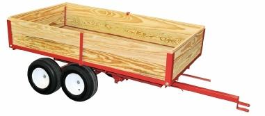 Model 6500 one ton lawn trailer