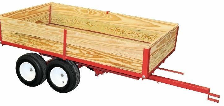 model 6500 lawn trailer