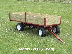 Model 7300 One Ton Capacity Lawn Wagon By Country Lawn