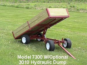 Model 7300 Garden Wagon Bed Raised
