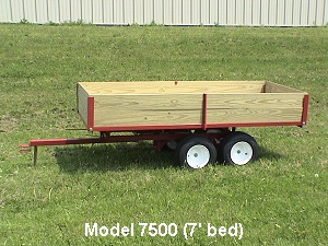 Off Road Dump Trailers Lawn Carts And Dump Wagons By