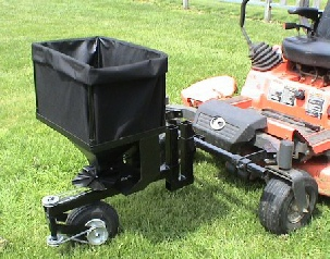zero turn mower attachments